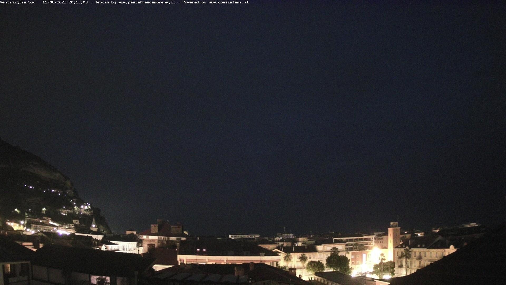 Webcam Ventimiglia Sud
